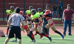 Buen debut para las Red Devils en la Womens Football League